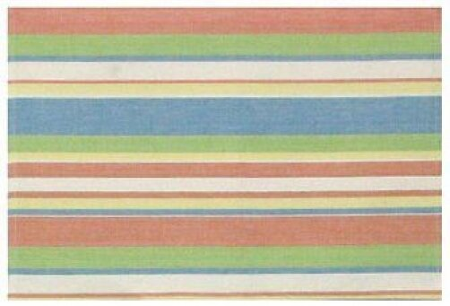 Malibu 100% Cotton 18 Placemat (Set of 6) by Traders and Company